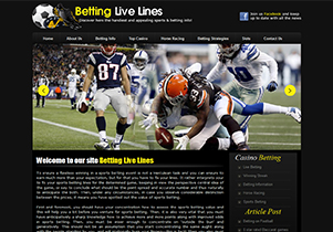Betting Live Lines